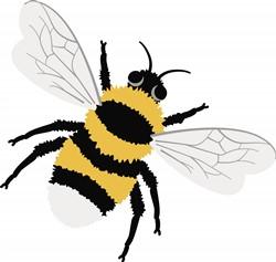 Bumble Bee Print Art