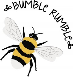 Bumble Rumble Bee Print Art