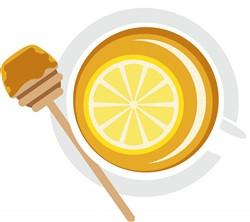Honey Lemon Tea Print Art