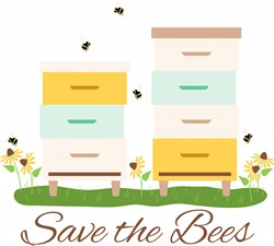 Save The Bees Print Art