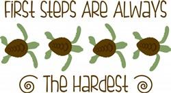 Sea Turtle Border Print Art