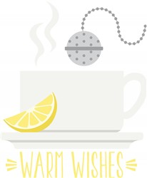 Warm Wishes Tea Print Art