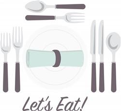 Lets Eat! Print Art
