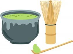 Matcha Green Tea   Print Art