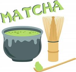 Matcha Tea Set Print Art