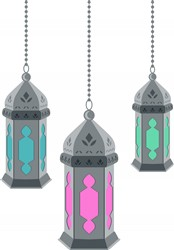 Moroccan Lanterns Print Art