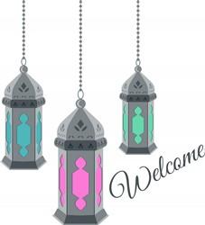 Welcome Lanterns Print Art