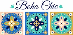 Boho Chic Print Art
