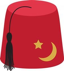 Fez Hat Print Art