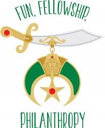 Fun Fellowship Philanthropy Print Art