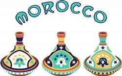 Morocco Tagines Print Art