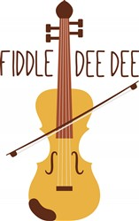 Fiddle Dee Dee Print Art