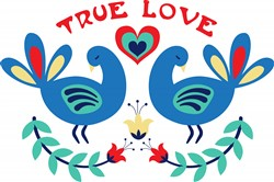 True Love Birds Print Art