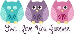 Owl Love You Print Art