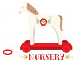 Nursery Horse Print Art