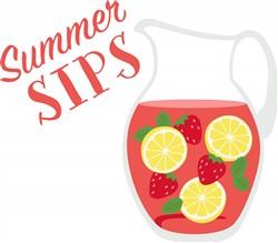 Summer Sips Print Art