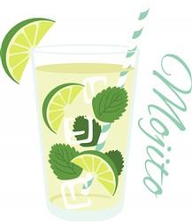Mojito Cocktail Print Art