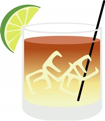 Dark And Stormy Cocktail Print Art
