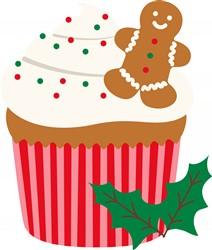 Christmas Cupcake Print Art