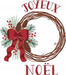 Joyeux Noel Print Art