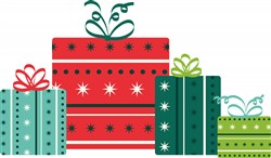 Christmas Packages Print Art