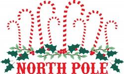 North Pole Print Art