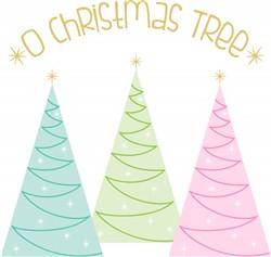 O Christmas Tree Print Art
