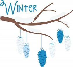 Winter Ornaments Print Art