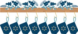 Hanukkah Mantle Print Art