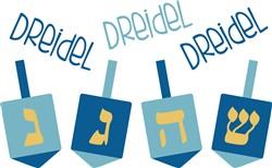 Dreidel Print Art