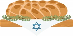 Challah Bread Print Art