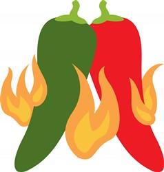 Hot Chili Peppers Print Art