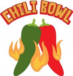 Chili Bowl Print Art