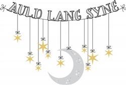 Auld Lang Syne Print Art