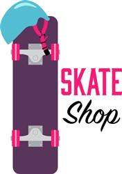 Skate Shop Print Art