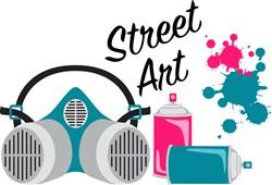 Street Art Print Art