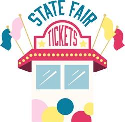 State Fair Tickets Print Art