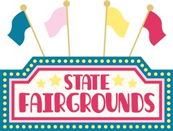State Fairgrounds Print Art
