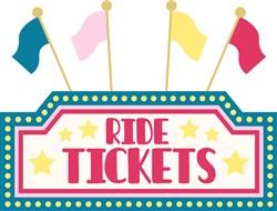 Ride Tickets Print Art