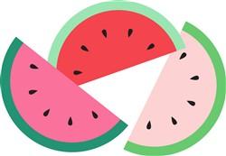 Watermelon Slices Print Art