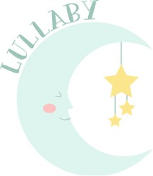 Lullaby Moon Print Art