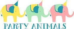 Party Animals Print Art