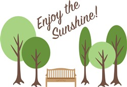 Enjoy Sunshine Print Art