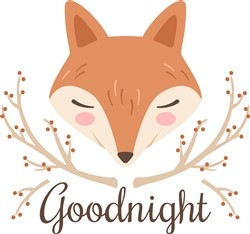 Goodnight Fox Print Art