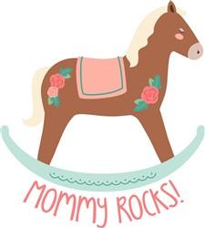 Mommy Rocks Print Art