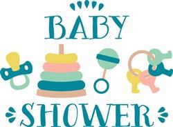 Baby Shower Print Art