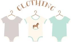 Baby Clothing Print Art