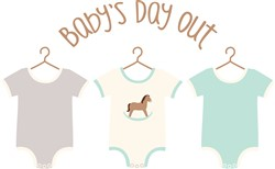 Babys Day Out Print Art