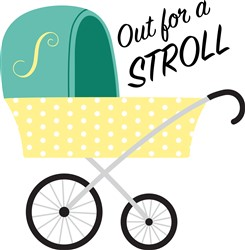 Out For Stroll Print Art