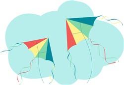Flying Kites Print Art